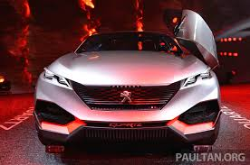 pejo car paris 2014 peugeot quartz concept a 3008 preview