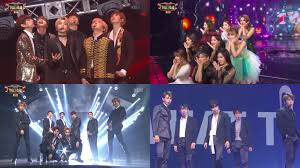watch bts exo shinee twice got7 gfriend and many more