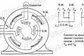 single phase motor wiring diagram with capacitor start pdf 4k