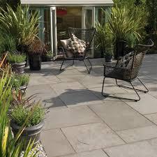 Patio Edging Stones by Patio Edging Stones 18u2033 Square Patio Stone New Fairstone