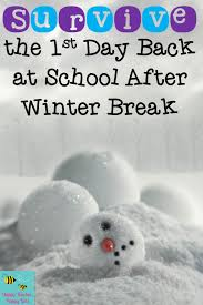 survive the day back at school after winter tips