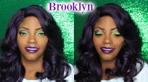 queen brooklyn hairline outre synthetic l part swiss lace front wig brooklyn dvio epicshae