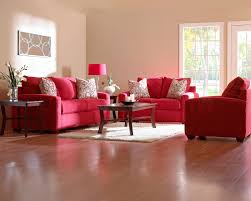 impressive red fabric sofa sets cushions covers in modern living