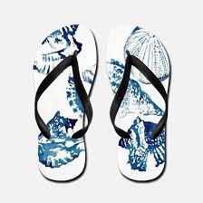 seashell flip flops blue seashell flip flops blue seashell flip flops sandals