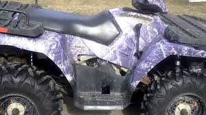 purple camo jeep 2005 polaris sportsman 800 camo p3655 youtube