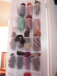 Over The Door Organizer Winter Accessory Storage The Borrowed Abodethe Borrowed Abode