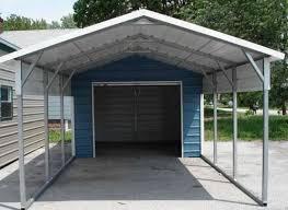 Garage With Carport Metal Buildings Wholesale Rv Carports Newdealmetalbuildings Com