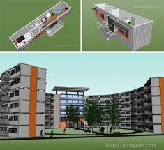 20 shipping container cities apartments container houses and