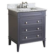 kitchen bath collection vanities kitchen bath collection kbc l30gycarr eleanor bathroom vanity with