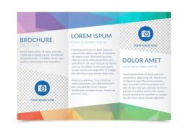 template for trifold brochure tri fold brochure templates free