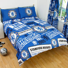 Electric Blue Duvet Cover Football Team Twin U0026 Double Duvet Cover Sets Arsenal Man U