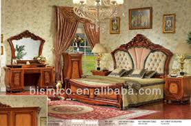 Upholstered Bedroom Furniture by Classical Italian Style Formal Bedroom Furniture Set Upholstered