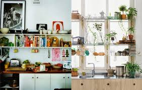 kitchens with shelves green gypsy yaya open shelvin in the kitchen other rental kitchen ideas