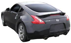 nissan 370z tail lights 2009 2010 nissan 370z factory style spoiler rear wing with light