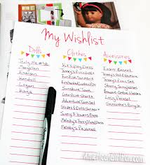 www my wish list shop update american girl doll wishlist printables americangirlfan