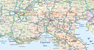 Cannes Map by Central Europe Political Country Vector Map With Roads Fully