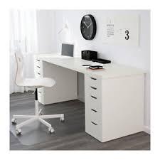 offerte scrivanie ikea ikea linnmon alex scrivania tavolo con due cassettiere bianco