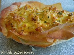 cuisiner les feuilles de chou fleur tarte filo au chou fleur et aux trois fromages ma bulle de