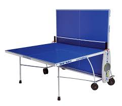 cornilleau ping pong table amazon com cornilleau 100s crossover indoor outdoor blue ping