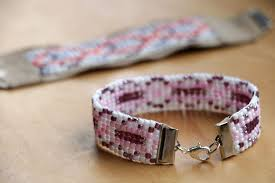 bead weave bracelet images Simple bead weaving loom bracelet 4 steps with pictures jpg