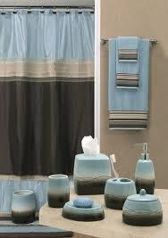 brown blue bathroom accessories unique brown and blue bathroom