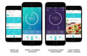 fitness tracker app for android the speedo shine swim sleep and fitness tracker