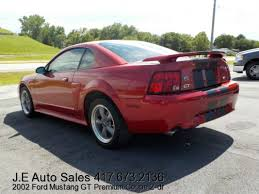 mustang 2002 for sale 2002 ford mustang gt premium coupe 2 dr for sale at je auto sales