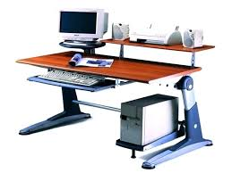 Wide Computer Desks 42 Inch Computer Desk Tandemdesigns Co