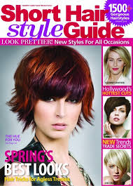 short hair style guide magazine venom