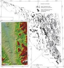 Map Of Sonora Mexico by Mesozoic Gliding And Tertiary Basin And Range Tectonics In Eastern