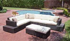 Outdoor Sectional Sofa Manhattan Outdoor Resort Sectional Sofa Corner Chair