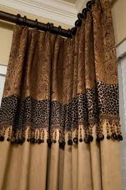 933 best drapery curtains toppers images on pinterest curtains custom drapery just a touch of leopard corner corner curtains drapes curtains living room