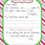 writing letter to santa template top 25 best letter to santa