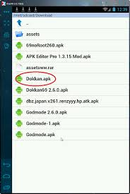 apk editor how to run versions of dokkan using android apk editor
