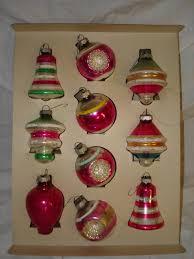 vintage 1950 s tree ornaments