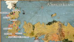Game Of Thrones Map Of The World by Game Of Thrones Battles Tableau Public