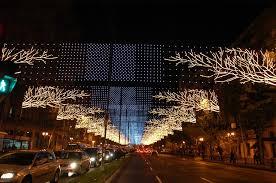 festive lighting installation lights installation