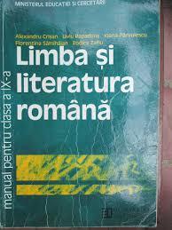 limba si literatura romana manual clasa a 9 a al crisan l