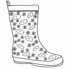 coloring page boots coloring page free pages of boot boots