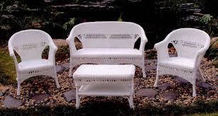 11 white resin wicker patio furniture carehouse info