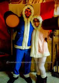 couple homemade halloween costume ideas chillingly accurate ice climbers costumes from super smash bros