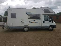 fiat ducato swift 600b sundance motorhome with removable heavy