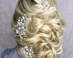 prom hair accessories prom hair etsy