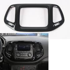 jeep compass dashboard for jeep compass 3 5 inch screen 2017 abs interior car gps