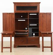 Pine Computer Armoire by Lexington Furniture Computer Desk Armoire Ebth
