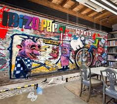 3d graffiti brick party world wall murals wallpaper wall art 3d graffiti brick party world wall murals wallpaper wall art decals decor idcwp ty
