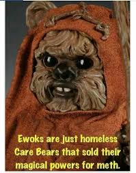 Ewok Memes - it all makes sense now tattoo pinterest humor and funny things