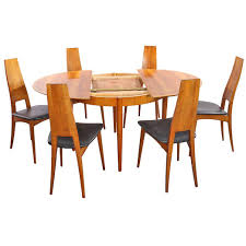solid wood extending dining table sets round extendable by vitamin