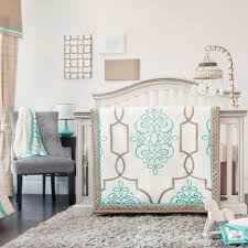 chic baby room with ruffles nursery bedding sets and pastel pink