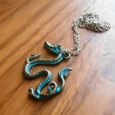 dragon jade necklace pendant images Best chinese dragon necklace products on wanelo jpg